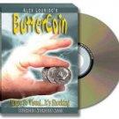 Butter Coin w/DVD (by Alex Lourido)