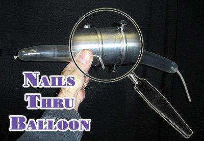 Nails Thru Balloon