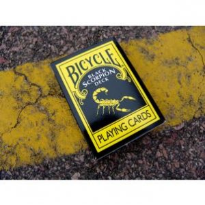 Bicycle Black Scorpion Deck Playing Cards