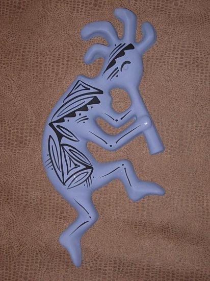 Navajo Painted Pottery Kokopelli Wall Decoration