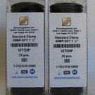 "BOX OF 25 TRI CLAMP GASKETS VITON 1-1/2"" FUEL/ACID/CHEM"