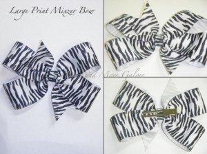 Mixzer Large Print Hair Bow