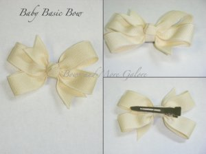 Basic Baby Bows