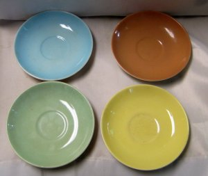 Vintage Galaxy Saucers by Biltons England