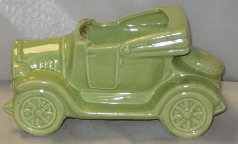 McCoy Light Green Excuse My Dust Jalopy Planter