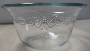 Anchor Hocking-Fire King Blue Ovenware Philbe Custard Cup