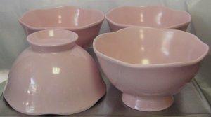 Target Home Melmac Melamine Pink Easter China  Bowls