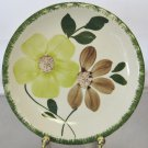 Blue Ridge Green Briar Piecrust  Bread/Butter Plate