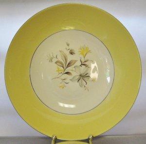 "Vintage Homer Laughlin Maytime 8 3/4"" Vegetable Serving Bowl RY284"