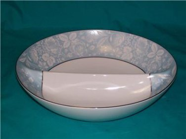 Style House Damask Coupe Divided Vegetable Bowl