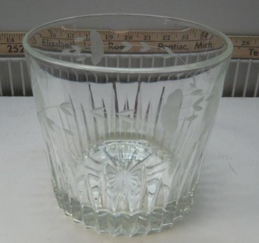 Princess House Heritage Design Crystal Ice Bucket