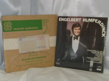 Engelbert Humperdinck I Am A Better Man Never Opened LP
