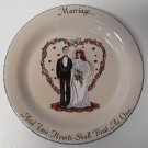 Home & Garden Party Marriage Wedding Collectible Plate Dish 2000