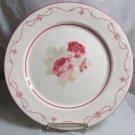 "Waverly Garden Room Vintage Rose Columbia 11"" Dinner Plate"