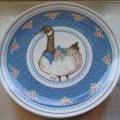 """Set 3 George Good Fabrizio 1985 Gray Goose Canadian Geese 8.5""""  Plates"""