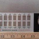 Hamilton Beach Scovill Super 16 636-1 Blender Part, Speed Selection Plate