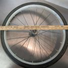 "Hard Rubber Solid Metal Rim Bicycle Buggy Trike Wagon Wheel 19-20"" Vintage"