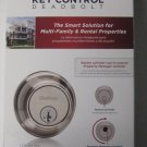Kwikset 816 Single Cylinder Satin Nickel Key Control Deadbolt Brand New
