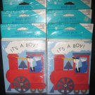 It's A Boy Birth Stork Announcement Cards NIP American Greetings Vgt NOS 48