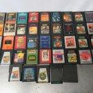 Atari Game Lot 41 Rare Mixed Games No Boxes, Some Rough Labels Untested
