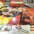 Carrera Digital 143 Pole Position #40002 Slot Cars Has 3 Cars Gently Used