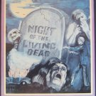 Night of the Living Dead (VHS, 1982) Media Ent.  Rare Horror Video George Romero