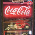 1933 FORD COUPE MATCHBOX COLLECTIBLES  ON CARD COCA COLA SERIES