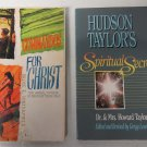 Christian Books Commandos For Christ by Porterfield & Spiritual Secret by Taylor
