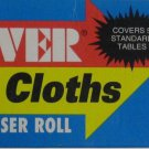 Tablecloth for RV / Camper / Trailer / Motorhome / Picnic Table Cut N' Cover
