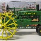 "ERTL FoxFire Farm Lowell Davis DieCast Model ""A"" John Deere Tractor Missing Man"