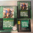Original John Madden Football Sega Genesis Case Game Manual