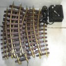 Lionel Track, Mt Clemens,G Scale  Train Parts, and Dual voltage Transformer
