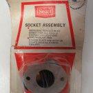 1940-68 Automobile Plate/ Back Up Light Socket Sears Roebucks & Co Universal
