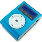 Blue 4GB MINI SHUFFLE II STYLE WITH BACKLIT DISPLAY AND VOICE RECORD!