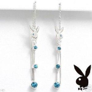 Darling Playboy Dangle Earrings NEW