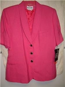 NWT's Karen Ellis Short Sleeved Blazer sz 8 $99