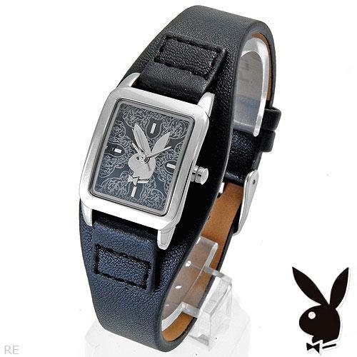 Playboy Watch Leather Band NIB