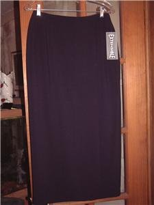 NWT's TanJay Extensible Stretch Navy Skirt sz 8