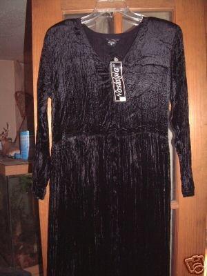 NWT's Nostalgia Black Dress sz S @@$69.00@@