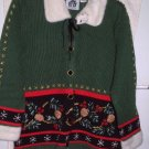 NWT&#39;s StoryBook Knits Mistletoe Sweater sz M