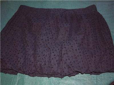 NWT's Luella Black Crunch Skirt sz 9 $29.99