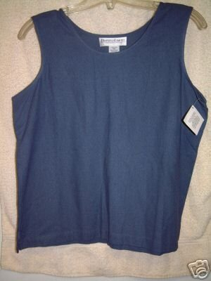 NWT's Drapers & Damons Washable Silk Tank sz P/M
