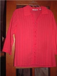 NWT's Marisa Christina 3/4 Sleeve Blouse sz 10 $78.00