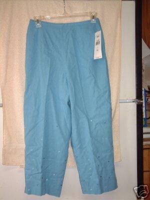 NWT's Norton McNaughton Petites Cropped Pants sz P/S