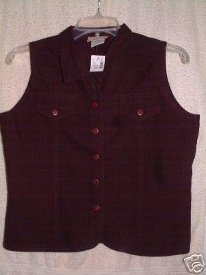NWT's Maurices Sleeveless Shirt sz M