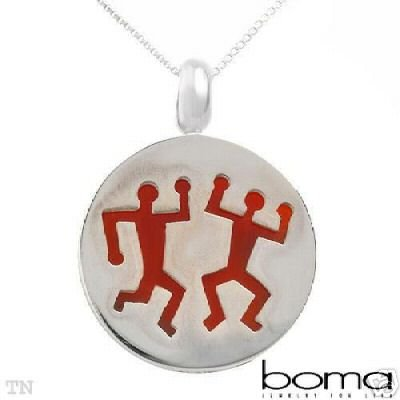 BOMA Chalcedony 925 Sterling Silver Necklace NEW