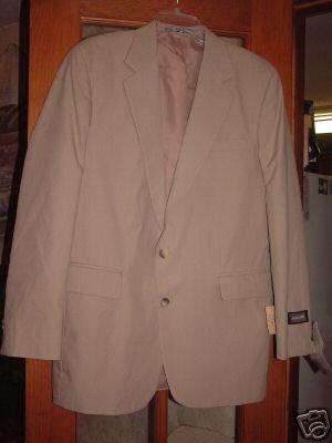 NWT's Haggar Presstige Sport Jacket sz 40L $75.00