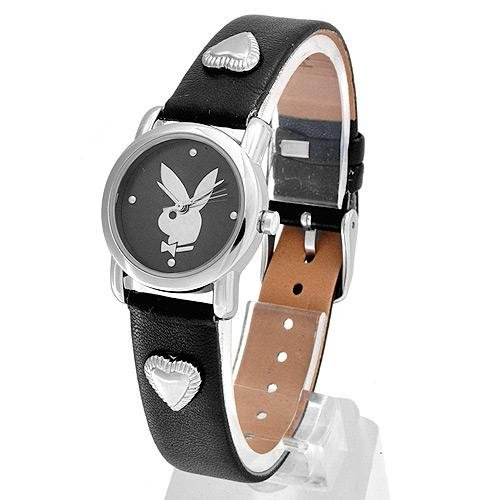 Playboy Watch Leather Band NIB DARLING!