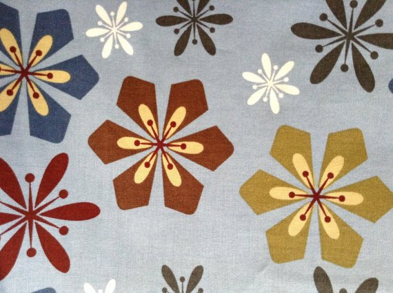 Graphic Garden - Cotton Fabric - Tiffany Holesovsky Patt 6186 - Blue