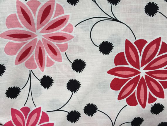 Floral Fabric - Home Collection by MM Designs - Home Decor